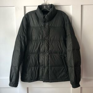 American Eagle Down Feather Quilted Jacket